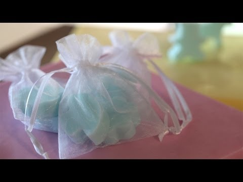 How to Make Soap Party Favors