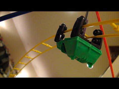 Massive Knex Roller Coaster