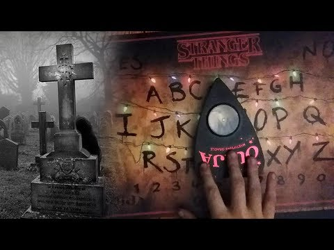 Finding A Stranger Things OUIJA Board In Haunted Cemetery