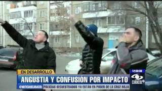 Vea cómo cayó el meteorito en Rusia. Hubo angustia y confusión - 14 de febrero de 2013
