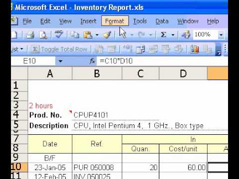 Microsoft Office Excel 2003 Add or remove a thousands separator