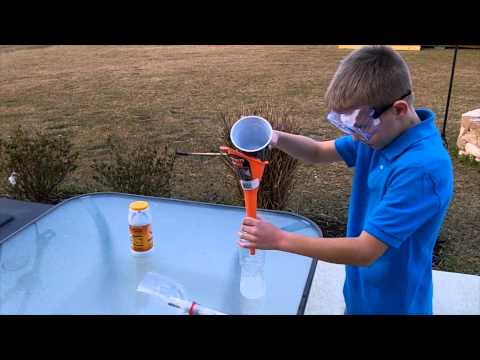 Baking Soda Rocket!