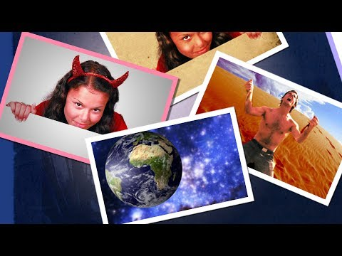Layer Styles and Positioning - Create a Collage in Photoshop CS5 - Pixovert Tutorial - Part 4