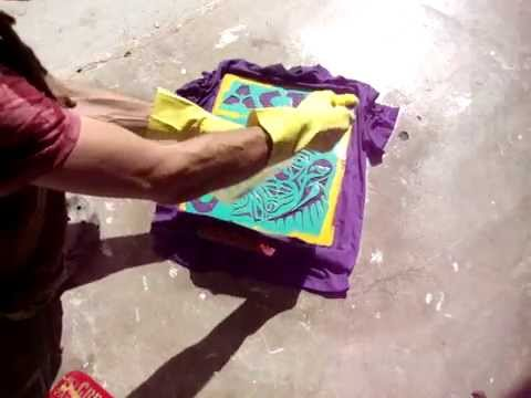 How to Make One of a Kind (Discharge) Tye-Dye T-shirts (2) by ArJeiEmSi