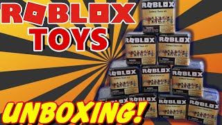 Robloxmysteryboxopeninginrealliferobloxtoys - roblox series 2 full blind box of 24 mystery boxes opening toy review trusty toy channel