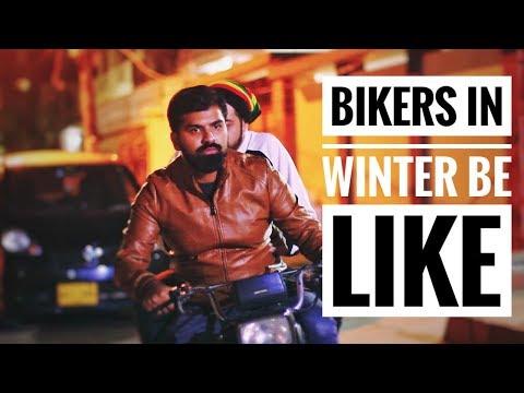 Bikers in winter be like | Bekaar films | Hilarious