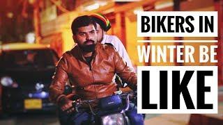 Bikers in winter be like   Bekaar films   Hilarious