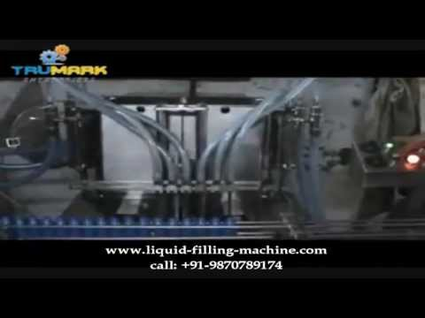 automatic six head coconut hair oil filling capping machine, plug pressing machine
