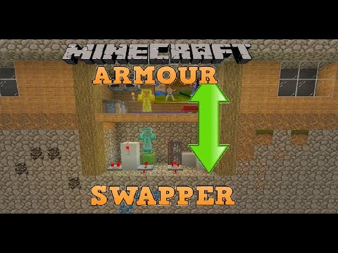 Easy Minecraft Armour Swapper