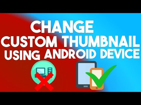 How to add thumbnail on youtube video using Android Device || Hindi