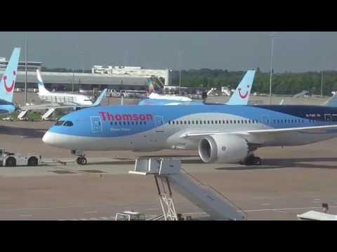 Thomson 787-8 Dreamliner G-TUIC Dream Maker Manchester - Orlando Sanford