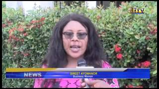 Business Woman in Benin Sweet Ayomanor denies having a child for Pere Ejune