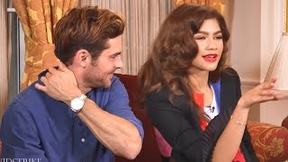 Zac Efron Cant Contain Himself Around Zendaya