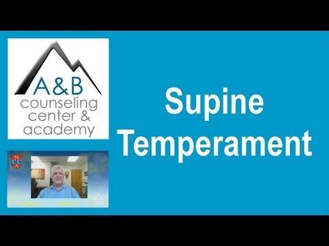 Supine Temperament