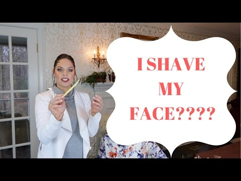 How You Should Shave Your Face! How To Dermaplane at Home!