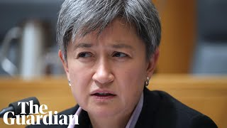 'Anyone consider that a problem?': Penny Wong reveals Helloworld emails