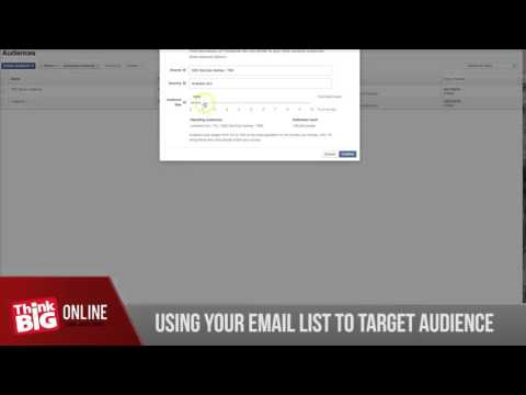 How To Do Facebook Retargeting With Email Lists