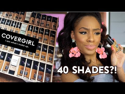 The Perfect Drugstore Foundation?! New COVERGIRL TRUBLEND MATTE MADE! #FoundationFriday ▸ VICKYLOGAN