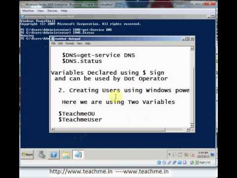 Creating a User with Windows PowerShell