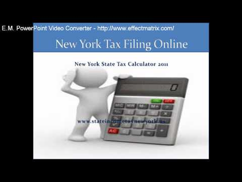 New York Tax Filing Online.mp4