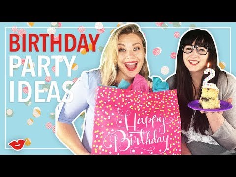 Birthday Party Ideas | Alisha and Eden from Millennial Moms