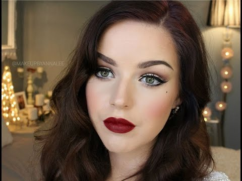 Makeup By Annalee    Old Hollywood 'Glamour' Makeup Tutorial