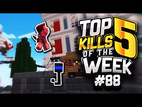 Fly HACKING In MINECRAFT  | Top 5 Kills of the Week - 88 (SG & UHC)