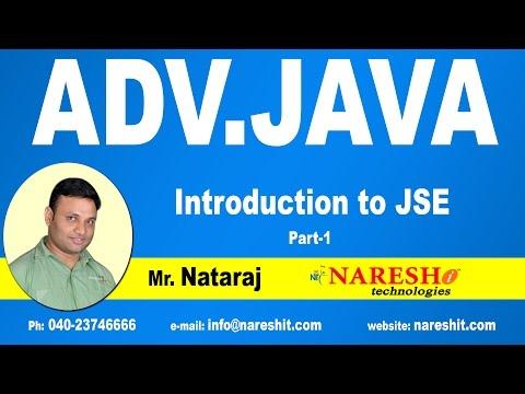 Introduction to Advanced Java - JSE -  Part 1 | Advanced Java Tutorial