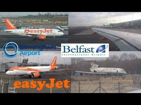 My Flight - EasyJet Flight 192/193 (BHX to Belfast/Belfast to BHX) - A319/A320 (G-EZEZ/G-EZRD)