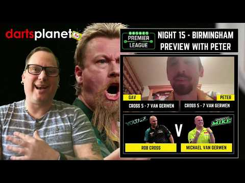 NIGHT 15 UNIBET PREMIER LEAGUE PREDICTIONS & PREVIEW FROM BIRMINGHAM WITH PETER RIECK