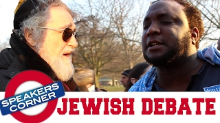 Jewish Man vs Muslims | Aren