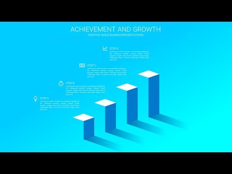 HowTo Create Business Growth, Achievement, Sales Target Slide in Microsoft Office365 PowerPoint PPT