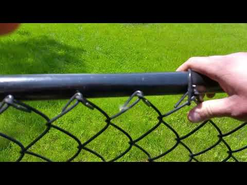 Black Chain Link Fence Installation Saint Paul, MN | Northland Fence |