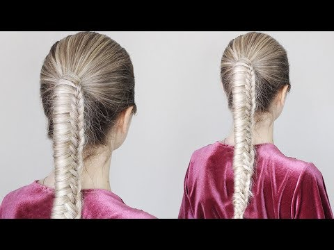 How To: Chinese Staircase Braid Ponytail