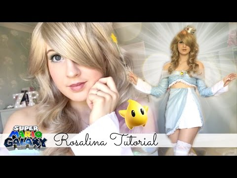 Rosalina Make Up Tutorial || Super Mario Galaxy
