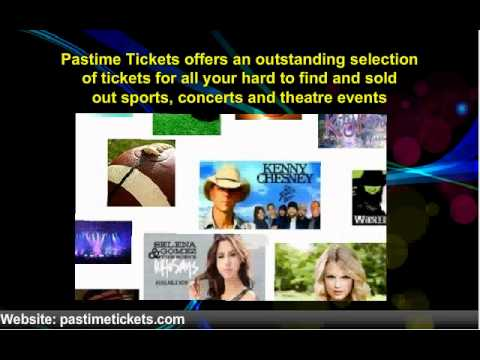 Pastime Tickets - Cheap Sports Ticket, Concert Tickets, Theater Ticket