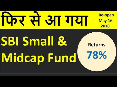 SBI Small and Mid cap Funds Re-opend | Best small cap fund  | SBI Small & Mid Cap Fund Review|