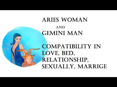 Aries Woman and Gemini Man Compatibility in love, bed, relationship, sexually, marrige. Horoscope