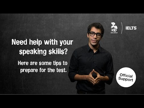 Need help with your speaking skills? Here are some tips to prepare for your IELTS test.
