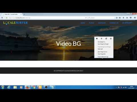 [FIXED] Video Background not playing/working in chrome browser[Supreme directory theme] [wordpress]