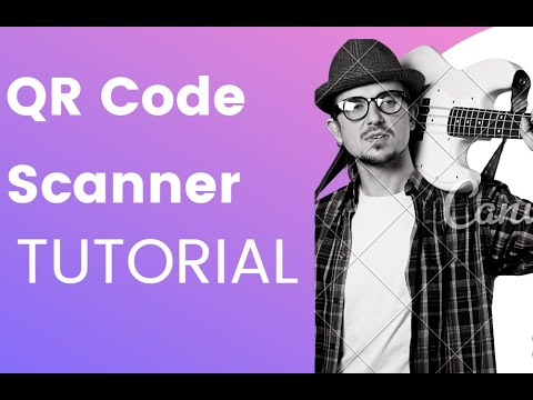 QR code Scanner from Camera Android Studio Tutorial