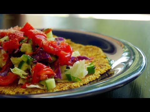 Cauliflower Tortillas (Plant-based/low carbs/oil free)