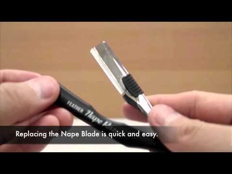 How to Change Feather Nape & Body Razor Blades