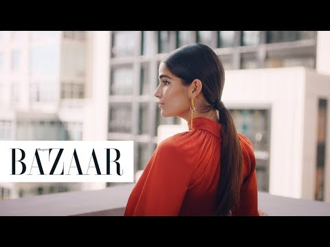 The Red Carpet Secret to Getting The Perfect Sleek Ponytail | Harper's Bazaar + Dyson Supersonic™