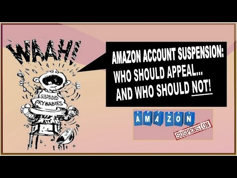 Amazon Account Suspension: Who Should Appeal