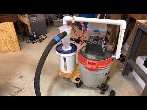 Portable ShopVac Dust Collector - How To
