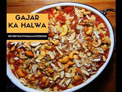 Gajar Ka Halwa Pakistani Recipe - How to make Gajar ka halwa with khoya