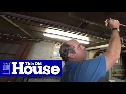 How to Hook Up Washing Machine Plumbing - This Old House