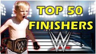 TOP 50 WWE FINISHERS OF 2017 ON TRAMPOLINE BEST WWE MOVES (TRAMPOLINE WRESTLING) WRESTLEMANIA