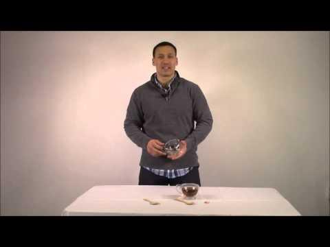 Princeton Wares Double Wall Glass Tea Cup Coffee Mug Set with Bamboo Teaspoons